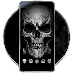 Black Death Skull Theme icon
