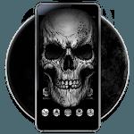 Black Death Skull Theme APK icon
