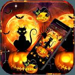 Black Halloween Cat Theme icon