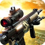 Black Battlefield Ops: Gunship Sniper Shooting icon