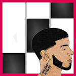 Anuel AA Karol G Secreto Piano Black Tiles for pc icon