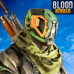 Blood Rivals - Survival Battleground FPS Shooter icon
