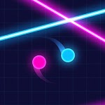 Balls VS Lasers: A Reflex Game APK icon