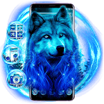 Blue Moon Wolf icon