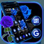 Romantic Blue Rose Theme icon