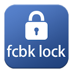 Lock for facebook icon