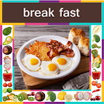 BreakFast Recipes In English ( Offline ) icon