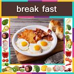BreakFast Recipes In English ( Offline ) icon