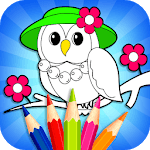 Coloring Book & Drawing Book - Kids Game icon