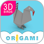 Origami Birds Lesson icon