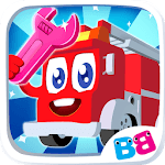 Cars for kids - Car sounds - Car builder & factory icon