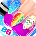 Nail salon game - Nail Art Designs for pc icon