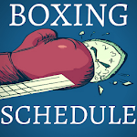Boxing Schedule icon