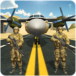 US Army Jail Prisoner Transport Plane Flight icon