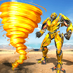 Tornado Robot Transforming: Future Robot Wars APK icon