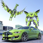 US Army Robot Car Transform: Future Robot Wars icon