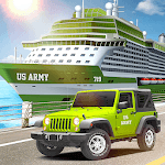 Us Army Transport- Real Cruise Ship Driving Games icon