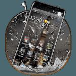 Broken Glass Rain Drop Theme icon