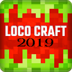 Loco Craft: Crafting and Survival 2019 icon