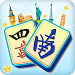 Mahjong Solitaire: Country World Tours icon