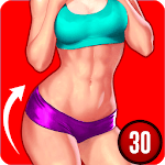 Female Fitness Lose Belly Fat - Workout For Women APK icon