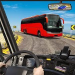 Off-road Mountain Bus Ramp Simulator for pc icon