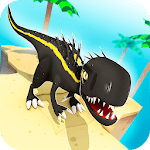 Jurassic Alive: World T-Rex Dinosaur Game icon