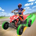 Light ATV Quad Bike Racing, Traffic Racing Games icon