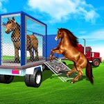 Farm Animal Transport Truck Driving Games: Offroad icon