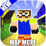Map Of Hi Neighbor For MCPE Guides icon