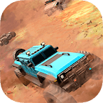 Truck League Monster Race - 3D Dirt Track Racing APK icon