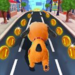Fun Run Dog - Free Running Games for pc icon