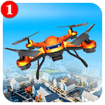City Drone Attack-Rescue Mission & Flight Game APK icon