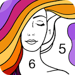 Fun Coloring - Color By Number Paint Happy & Relax icon