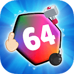 Make 64 - Merge Numbers Puzzle! Simple Casual Game icon