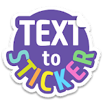 Texticker, Create Text Stickers - WAStickerApps for pc icon