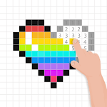 Color By Number For Free - Pixel Art Book icon