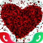 Rose Love Caller Screen icon