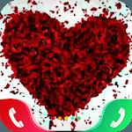 Rose Love Caller Screen APK icon