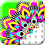 Paint Mandala: Color By Number icon