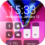 Control Center OS 11: iPanel Phone X APK icon