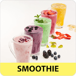 Smoothie recipes offline app for free with photo icon