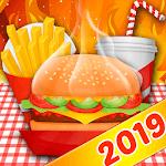 Chef Fever Kitchen Restaurant Cooking Games Burger icon