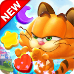 Magic Cat Match : Swipe & Blast Puzzle icon
