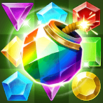 Jungle Gem Blast: Match 3 Jewel Crush Puzzles icon