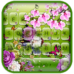 3D Flower Garden Keyboard Theme icon