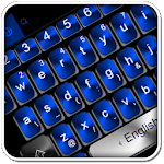 Black Blue Keyboard Theme icon