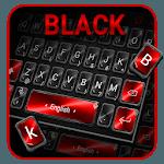 Black Red Keyboard Theme icon