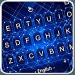 Blue Electronic Keyboard Theme icon