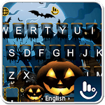 Live Blue Halloween Keyboard Theme icon